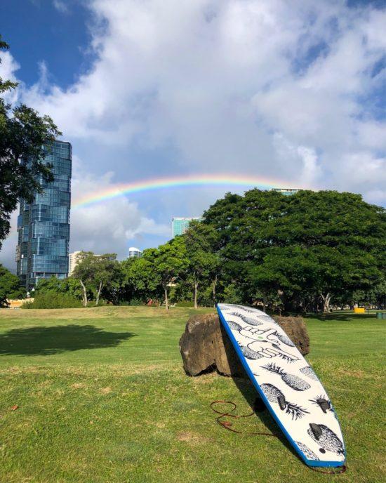 ハワイ サーフィン