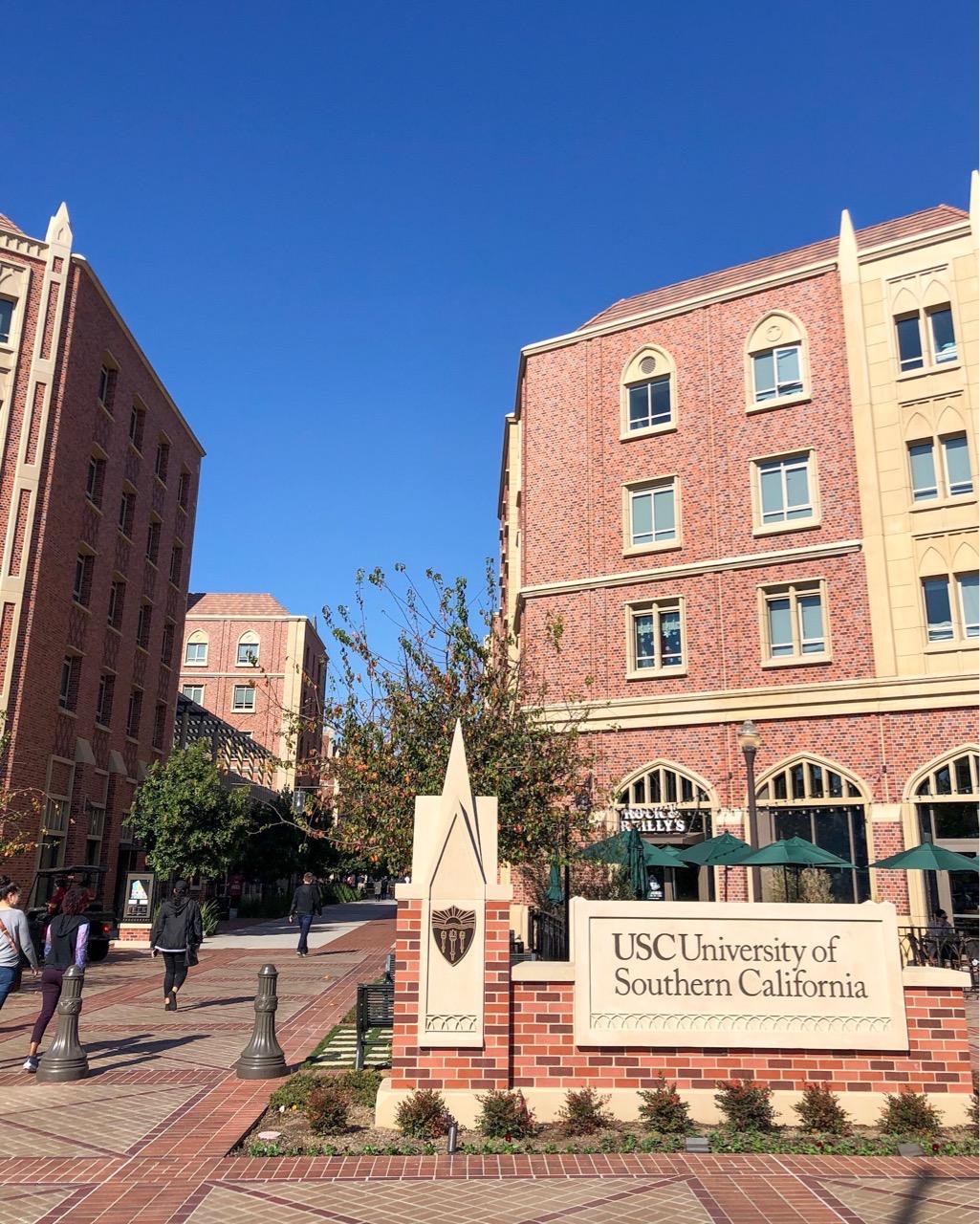 ロサンゼルス USC 南カリフォルニア大学