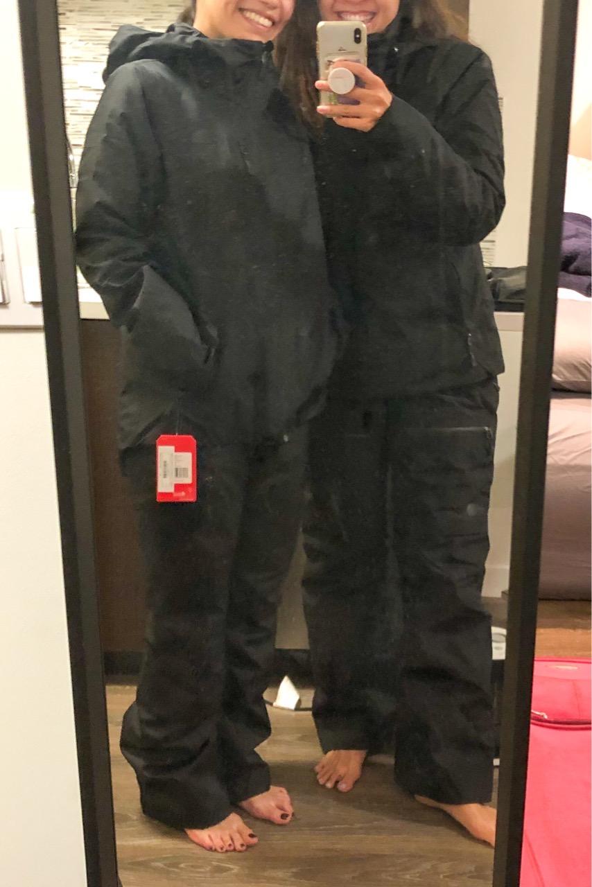 north face ski wear